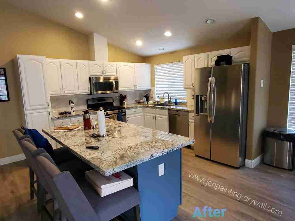 kitchen-with-white-ceiling-and-white-painted-cabinets